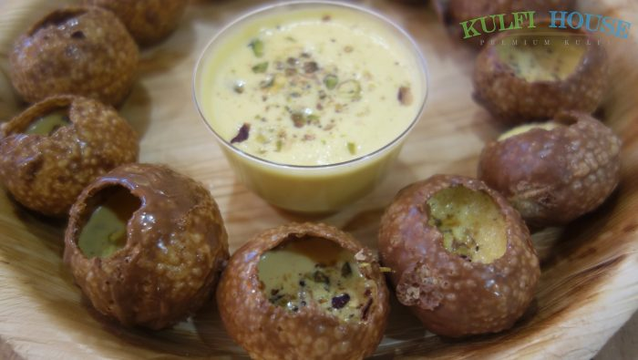 Chocolate Pani Puri